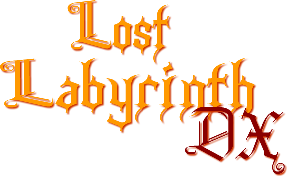 Lost Labyrinth DX logo
